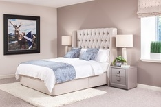 Sienna Winged Boutique Bed
