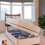 Single storage divan beds