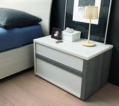 SMA Mobili Slim Bedside Cabinet