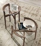 Tomasella Bloom Side Table - wood choice