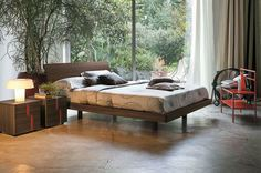 Tomasella Clio Wood Bed