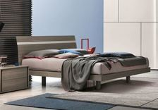 Tomasella Joker Modern Bed - many colours