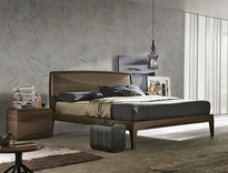 Tomasella Sidney Wood Bed - colour choice