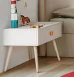 Woody Bedside Table with legs