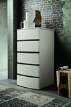 Zanette Glam tall chest of drawers