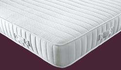 Zip Linked Medium Firm and Extra Firm Coil Sprung Mattress