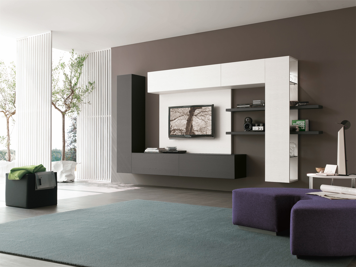 modern wall units italian furniture. tomasella atlante wall units display modern italian furniture