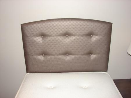 Bailey upholstered single headboard - colour choice
