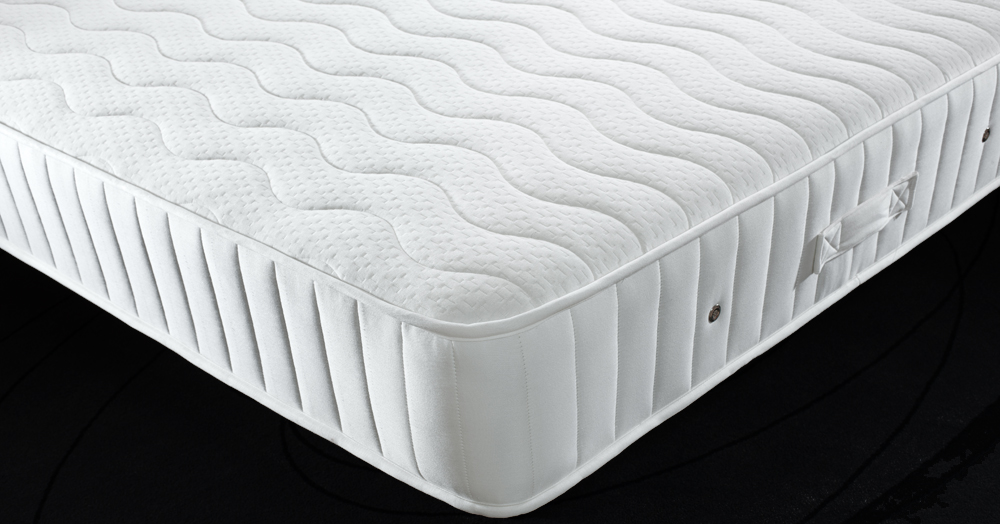Contour Coil Spring Mattress with Memory Foam (medium) 137cm