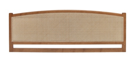 Cotswold Caners Poole wood and rattan headboard