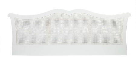 Cotswold Caners Sultan White rattan headboard