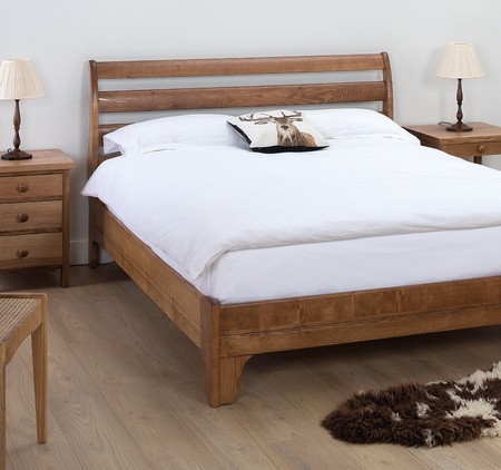 Cotswold Caners Winchester Slatted low footend bed