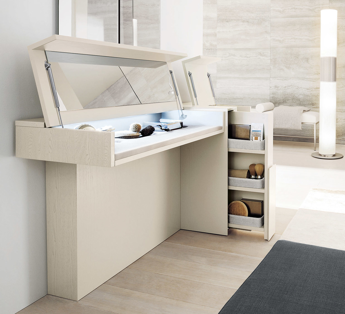 SMA Mobili Prestige ultra modern style dressing table see display