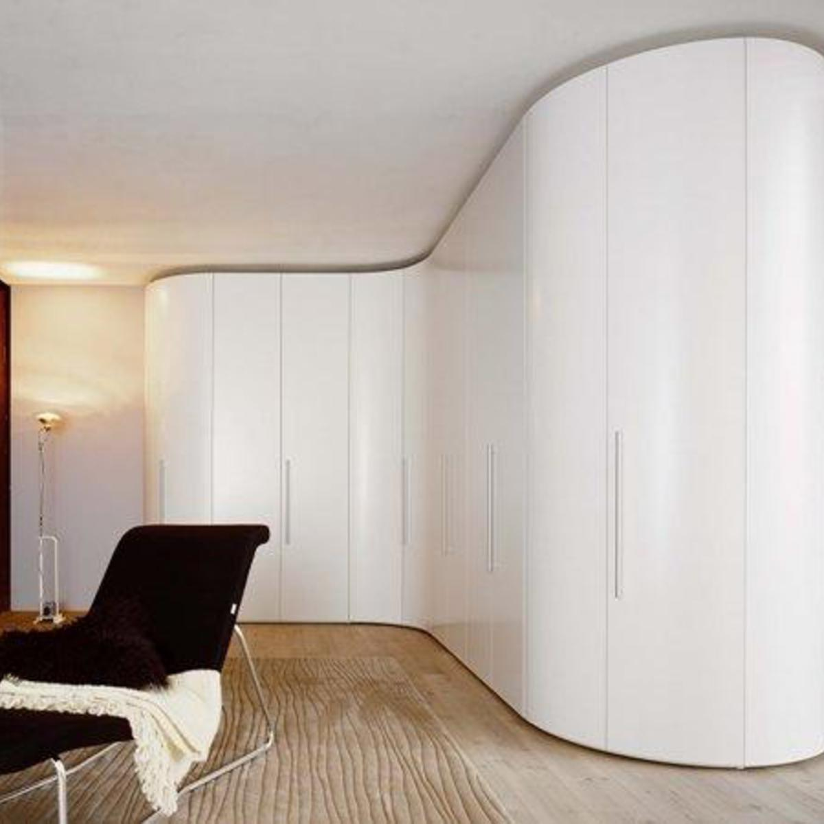 Contemporary Designer Curved Wardrobe Robinsons Beds