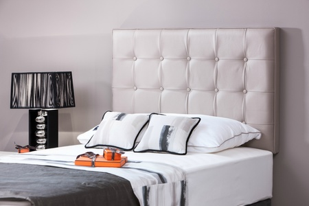 Moritz modern buttoned single headboard - colour choice