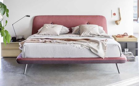 Novamobili Circe Upholstered bed