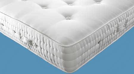 Olympia 5,000 Small Double Pocket Sprung Mattress (Firm) 120cm wide