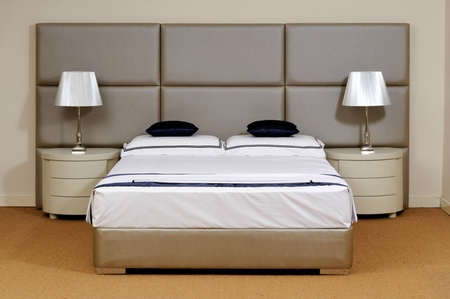 Origins Bespoke Bed with wall panels