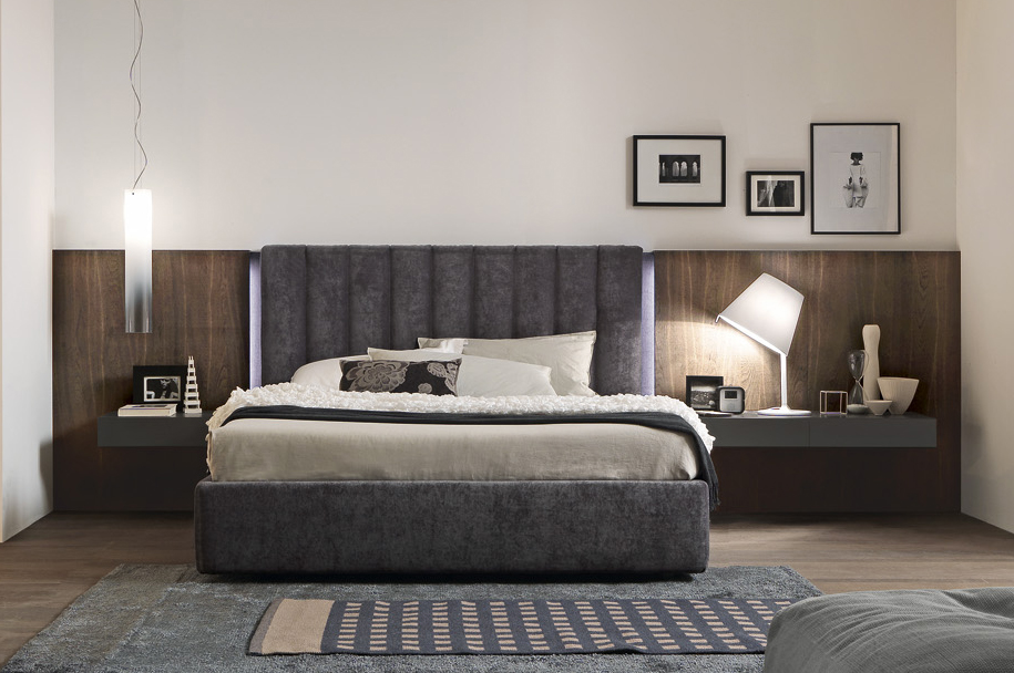 Presotto italia dado tube bed italian designer beds for Camere presotto