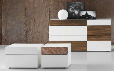 Presotto Wing bedside cabinet
