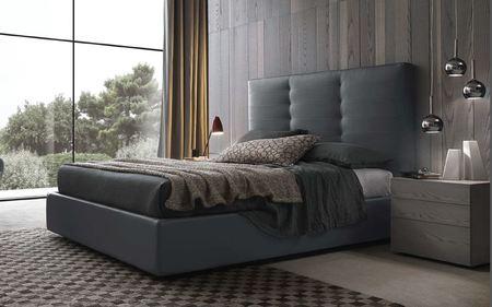 Presotto Wing Capitone Bed