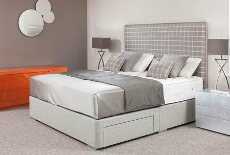 Saville Handmade Custom Bed - Huge Fabric Choice