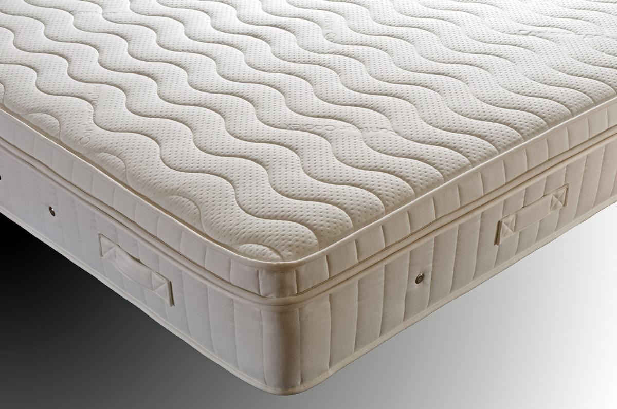 Supreme Pillow-top 2000 Euro King  Pocket Sprung Mattress (Medium Firm) 160cm