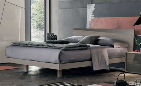 Tomasella Charlie Modern Bed - many colours