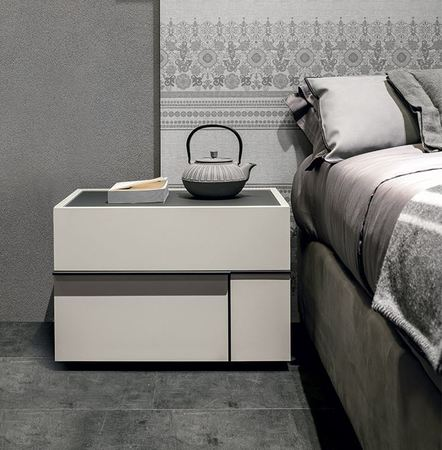 Tomasella Hashtag Modern Bedside Cabinets