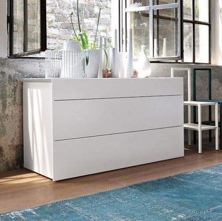 Chalk White Chests Of Drawers Italian Design Bedroom Furniture Interesting White Chest Of Drawers Bedroom Set