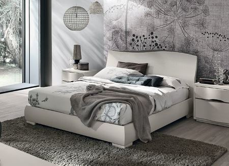 Tomasella Venere Modern Wood bed