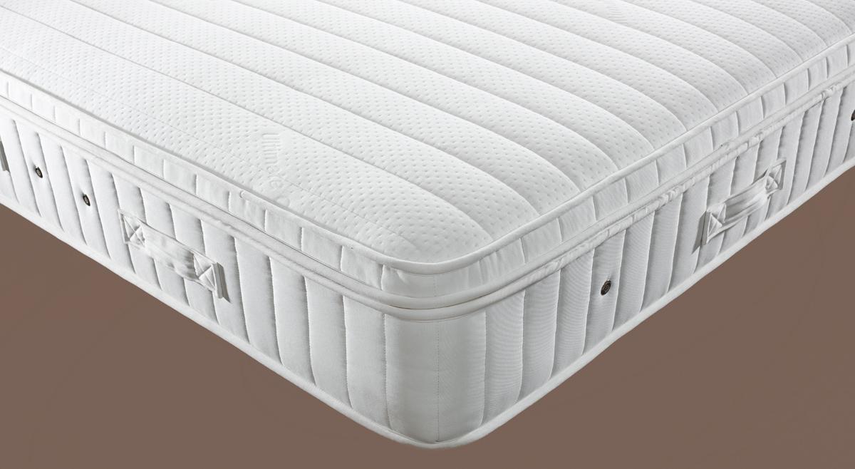 Ultimate Pillow Top 2000 Pocket Spring Mattress (Firm) 150cm