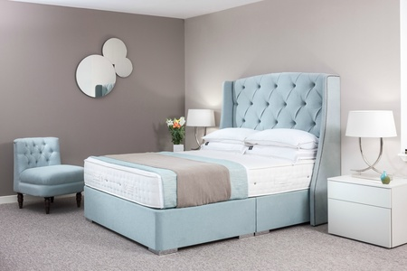 Valencia Bespoke Winged Bed - Fabric & Colour Choice