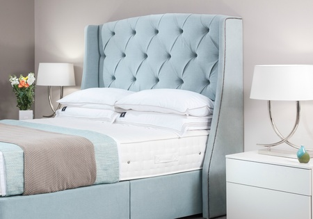 Valencia Bespoke Winged headboard