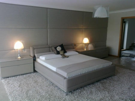 Custom Bedroom Upholstered Wall Panels Robinsons Beds