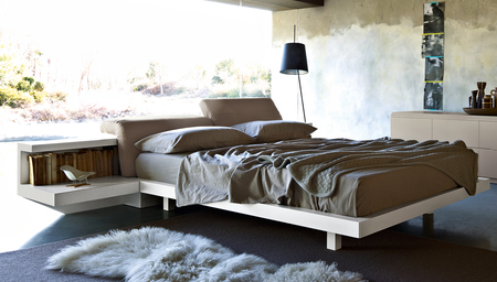 Zanette Morfeo Leather Bed