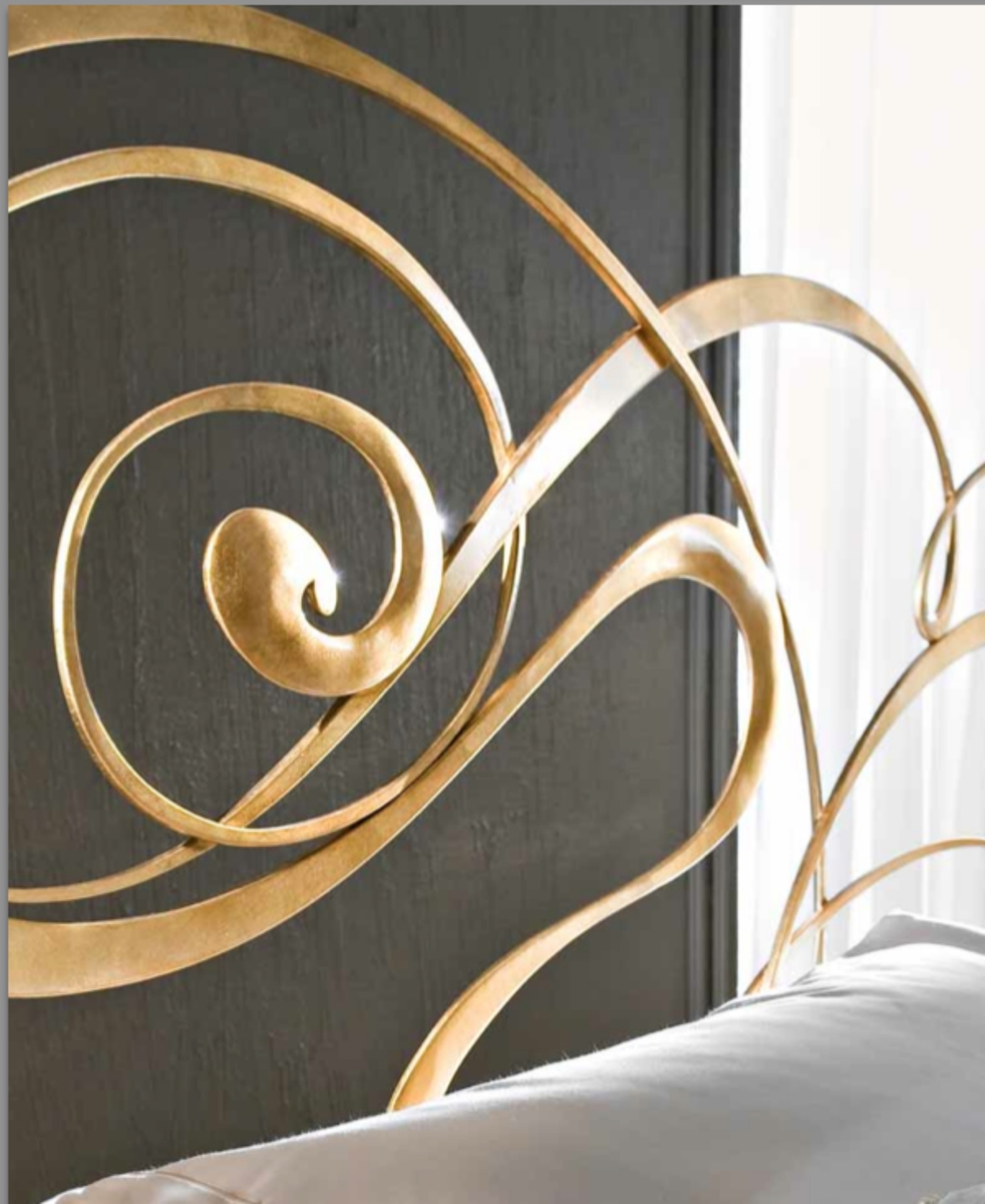 Ciacci Fly Metal Bed Italian Gold Leaf Amazingbed