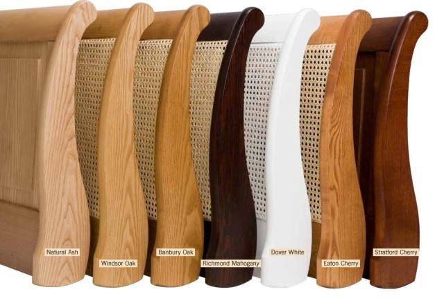 Cotswold Caners Poole Headboard Light Wood Headboard 104