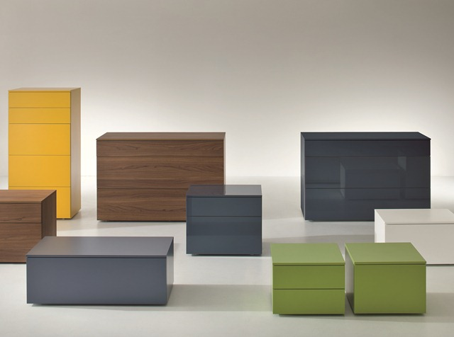 Very Slim Bedside Table dall'agnese slim bedside cabinets | coloured bedside chests