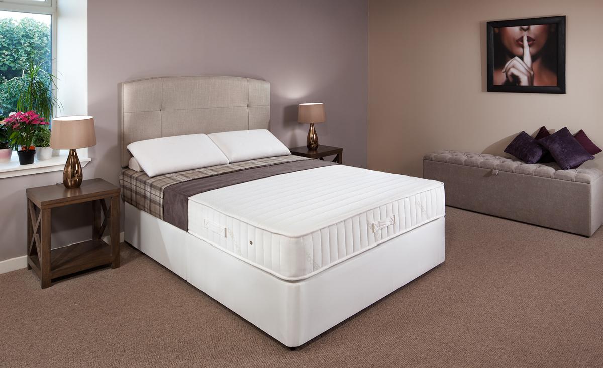 Firm quality 5ft kingsize divan 5 year guarantee robinsons beds Luxury divan beds