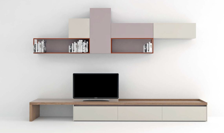Ordinaire Novamobili Modern Matt TV Floor And Wall Display Units