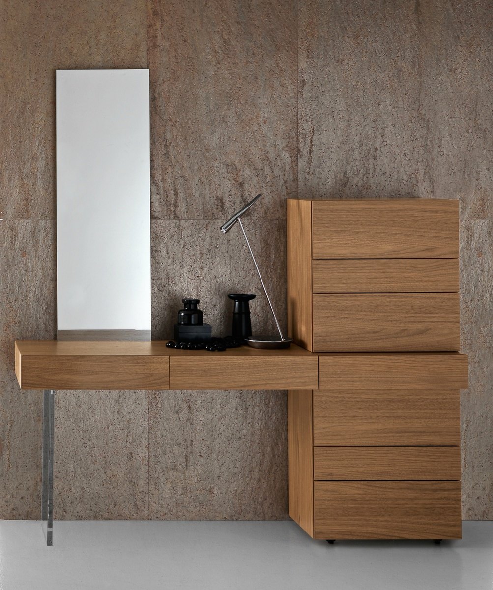mirrored glass silver console drawers with itm furniture table drawer dressing bedroom foxhunter