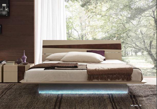 Presotto Tango Bed Euroking Contemporary Italian Beds