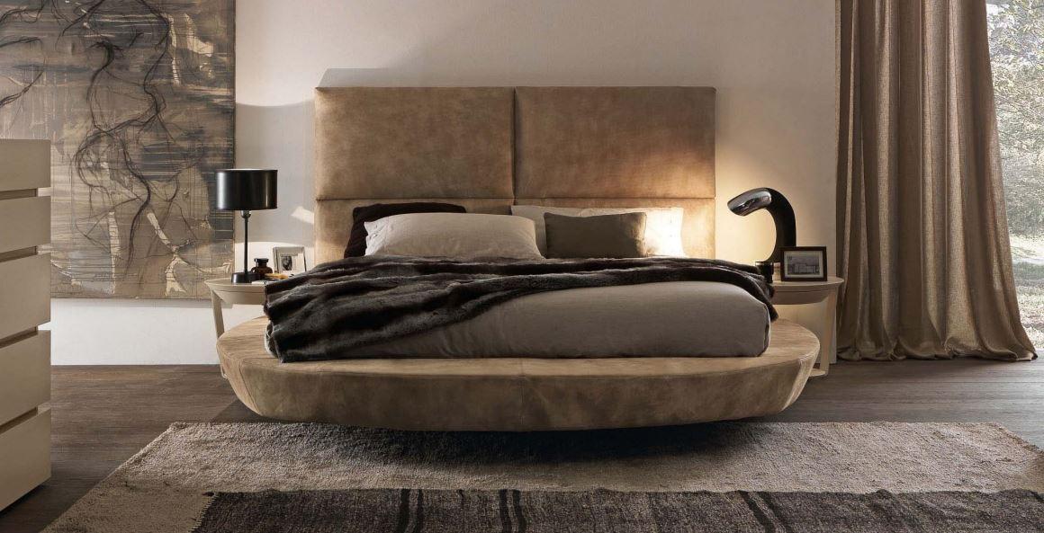 Presotto Zero Size Round Shape Bed Unique Platform Beds