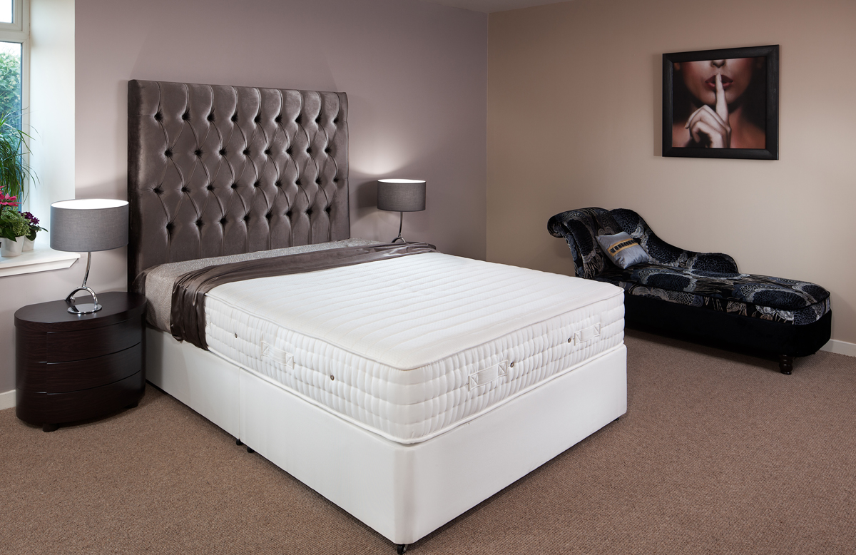 Memory Foam Double Divan Beds With Under Bed Storage Robinsons Beds