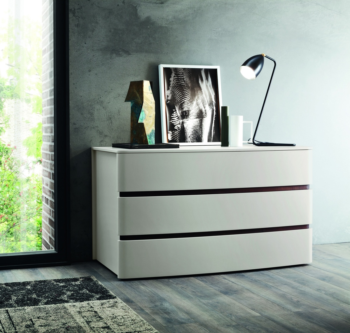 Zanette Glam Chest Of Drawers